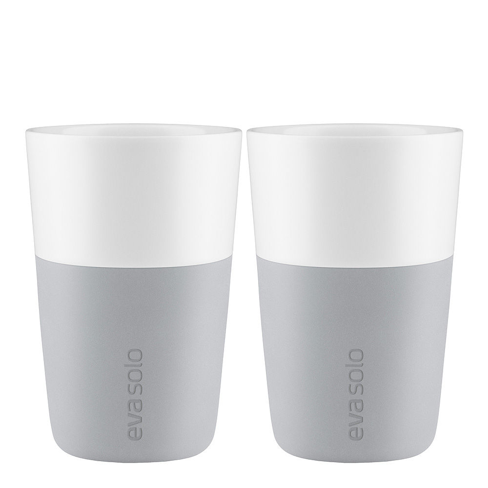 Caffe Lattemugg 36 cl 2-pack Marble Grey