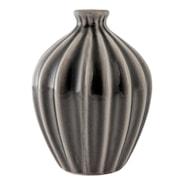 Amalie Vas 15 cm keramik Grå