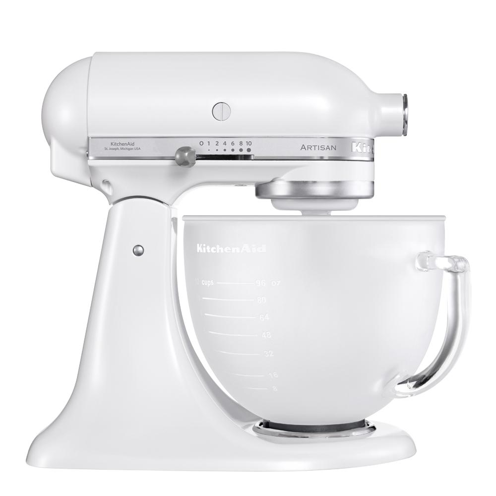 Artisan Köksmaskin 48 L glasskål Frost Vit