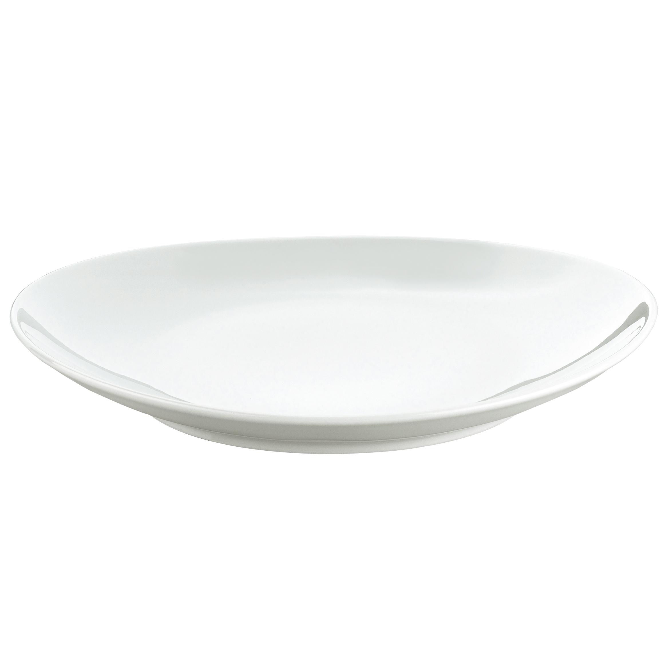 Stektallrik oval stor 295 cm