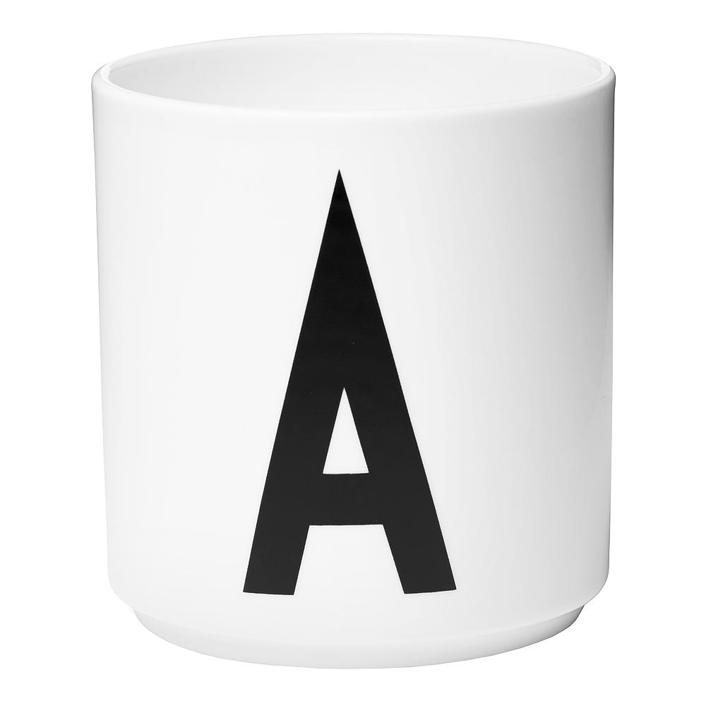 Design Letters Mugg A Vit