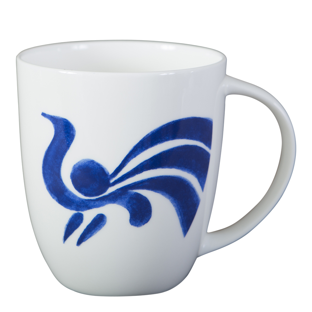 Fågel Blå Mugg 32 cl nr 1