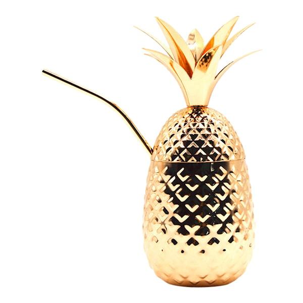Ananaskopp Guld 45,5 cl