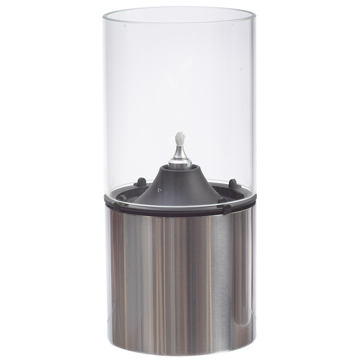 Oljelampa 18 cm Klarglas