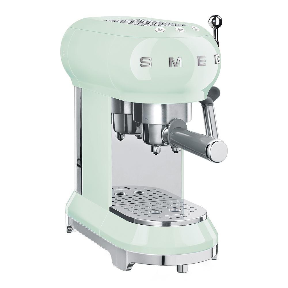 Retro Espressomaskin Grön