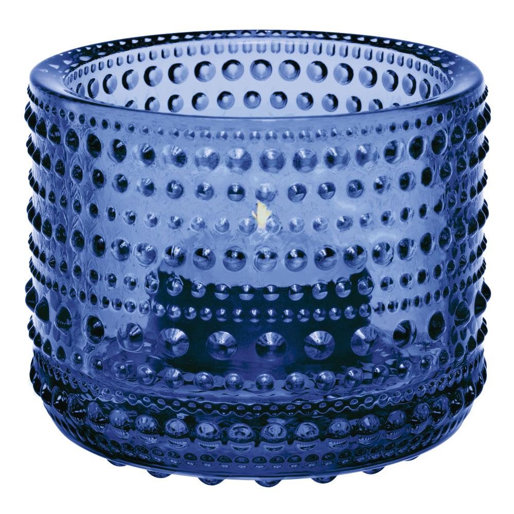 Kastehelmi Ljuslykta 64 cm Ultramarin