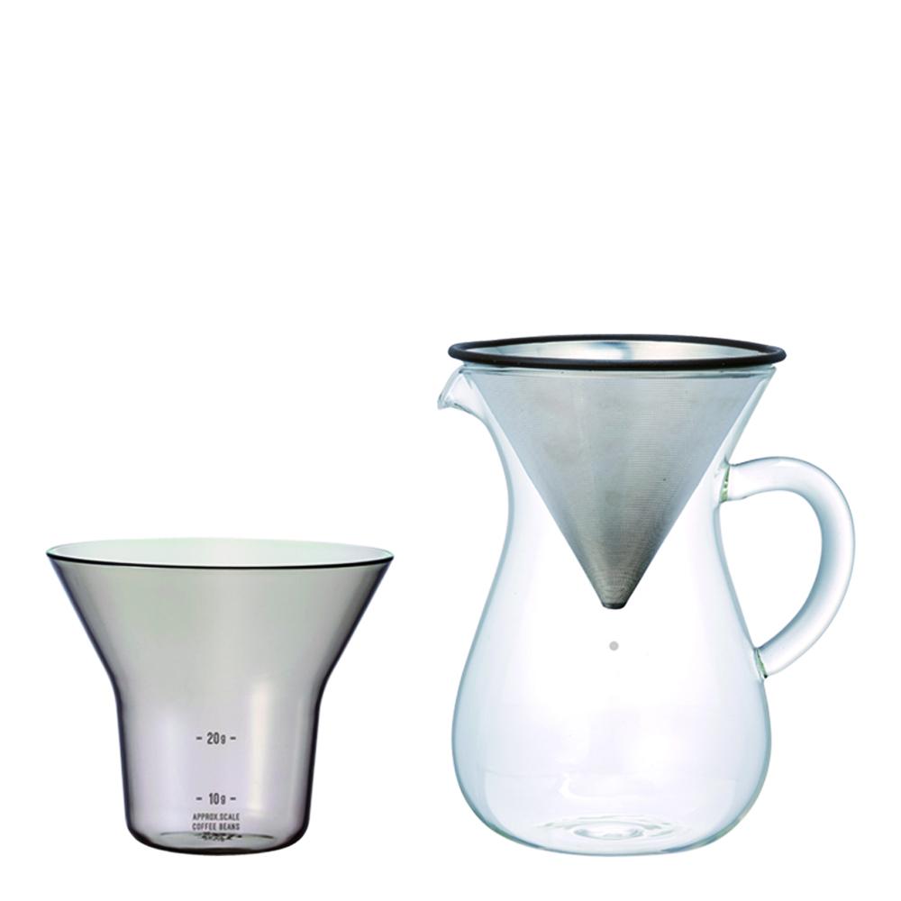 Slow Coffee Bryggset 300 ml rostfri