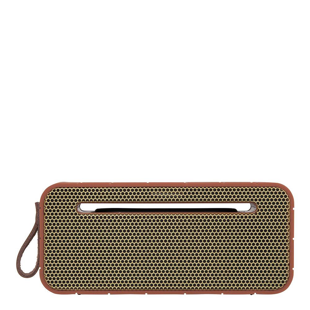 aMove Högtalare Bluetooth med Powerbank Soft Coral/Guld
