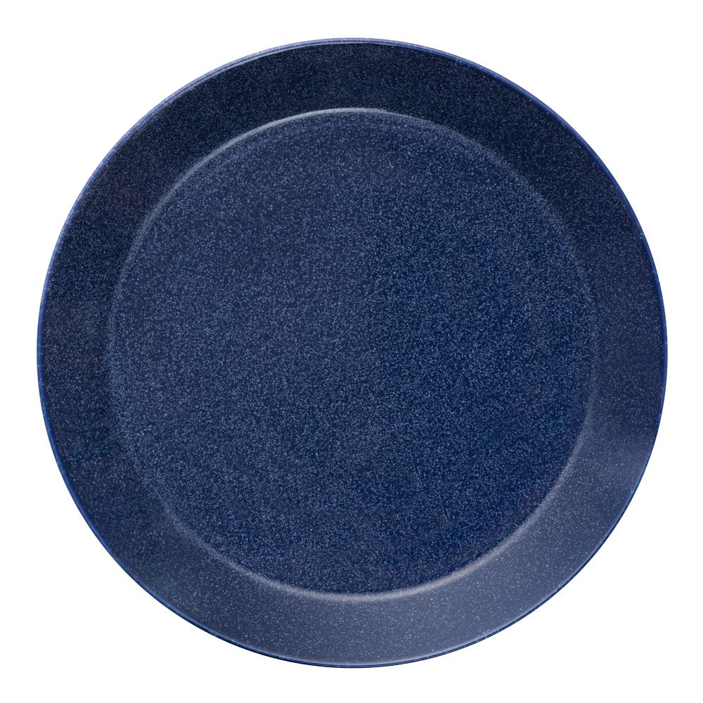 Teema Tallrik flat 26 cm Blå melerad