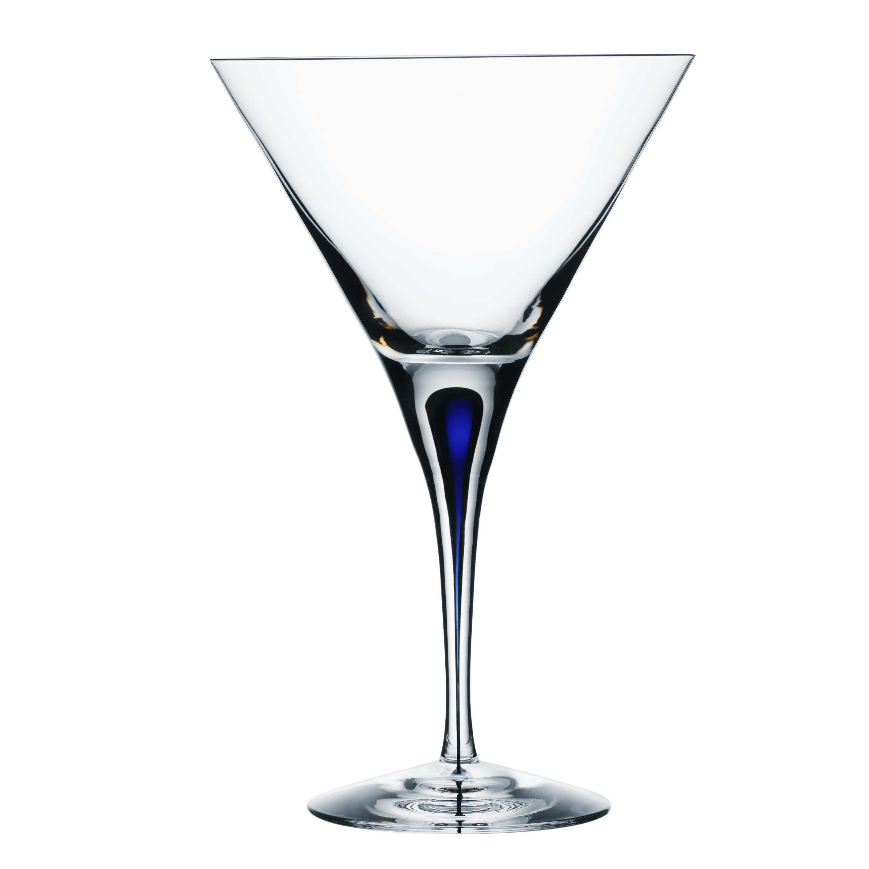 Intermezzo Blå Martiniglas 25 cl