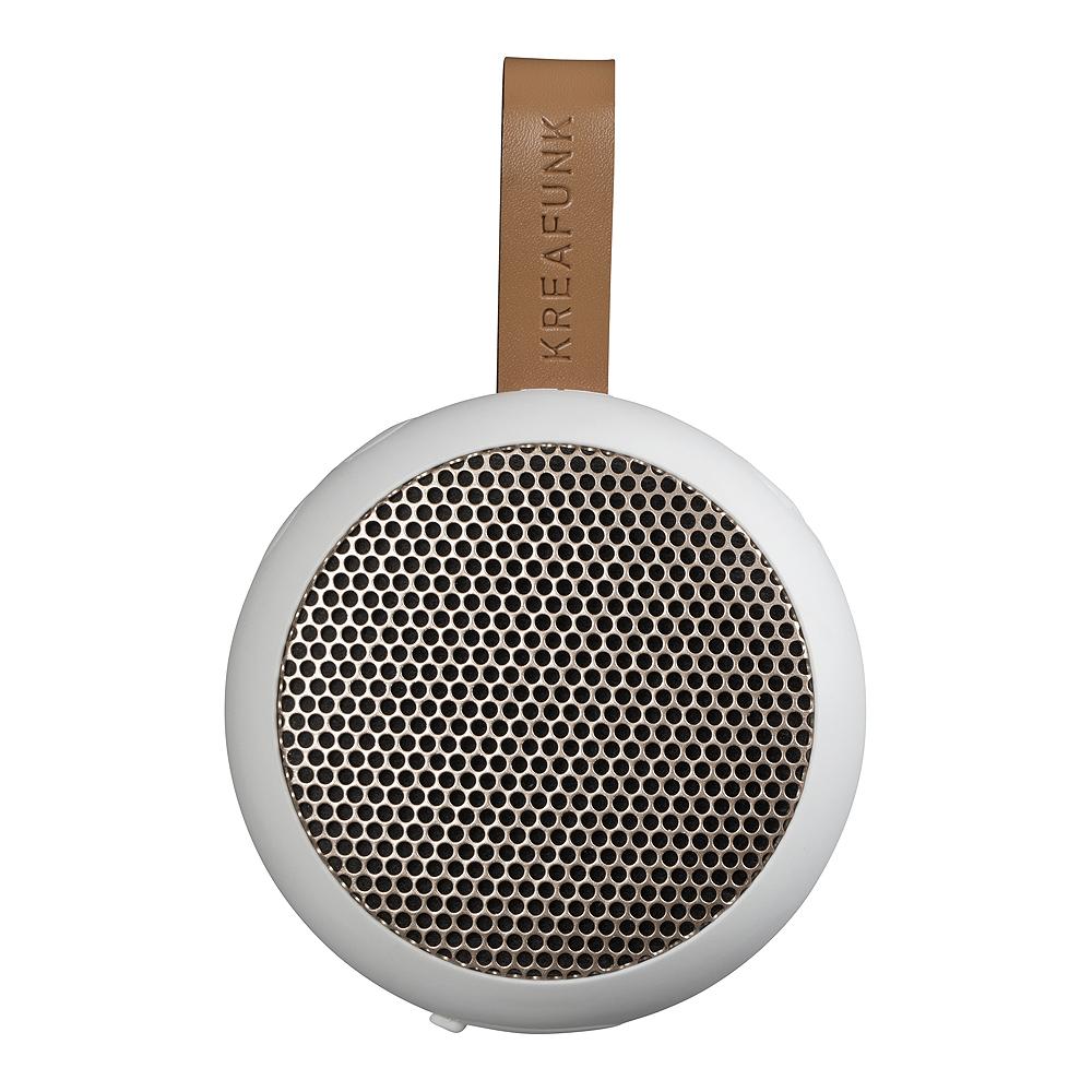 aGo Högtalare Bluetooth Vit/Roséguld