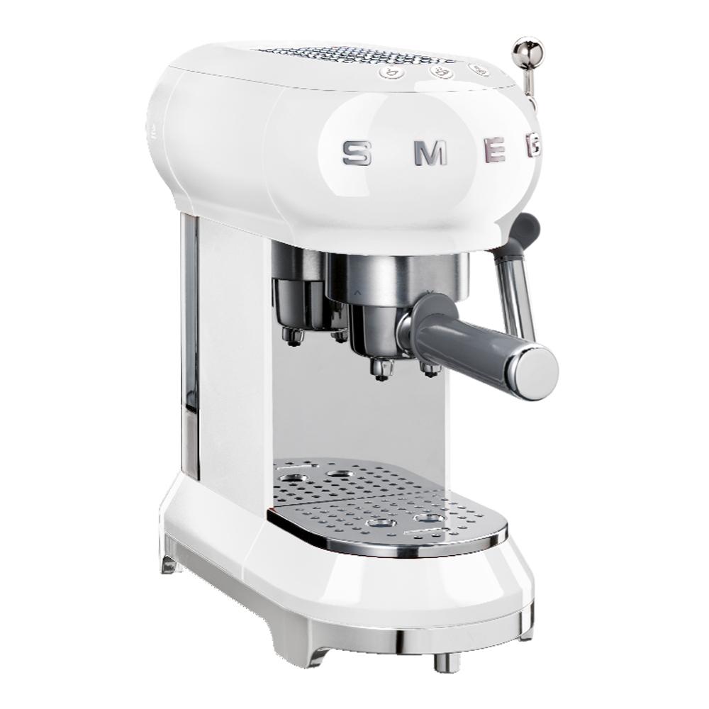 Retro Espressomaskin Vit