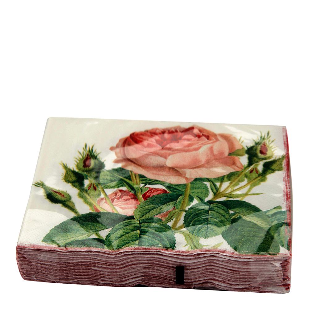 Redoute Roses Servetter 17×17 cm 20-pack