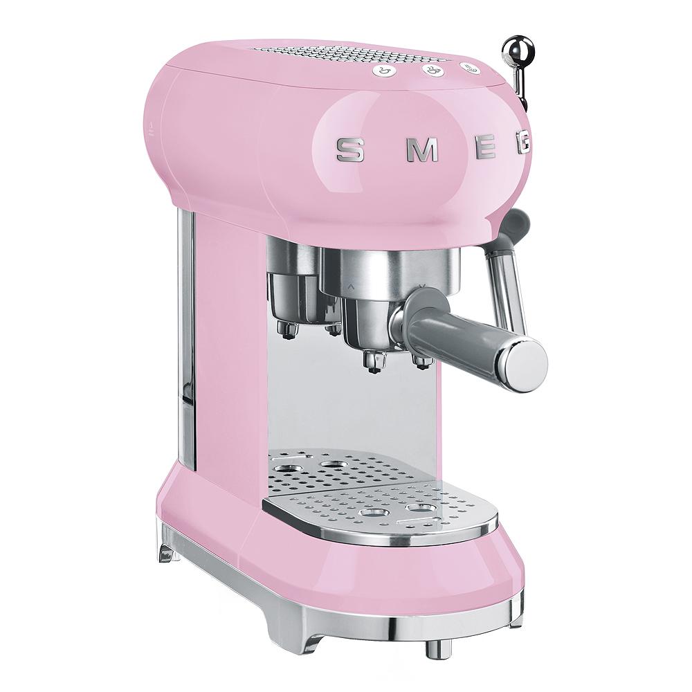 Retro Espressomaskin Rosa