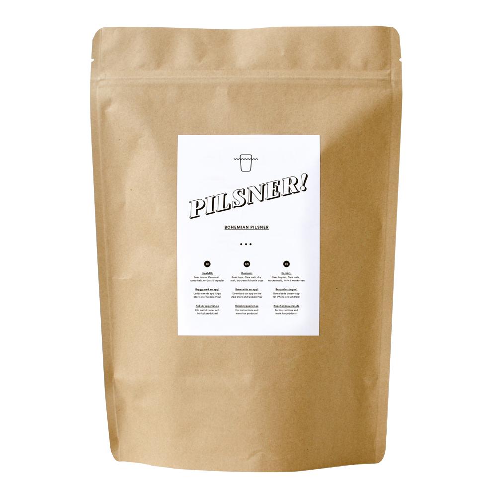 Receptsats Pilsner 5% 4 L