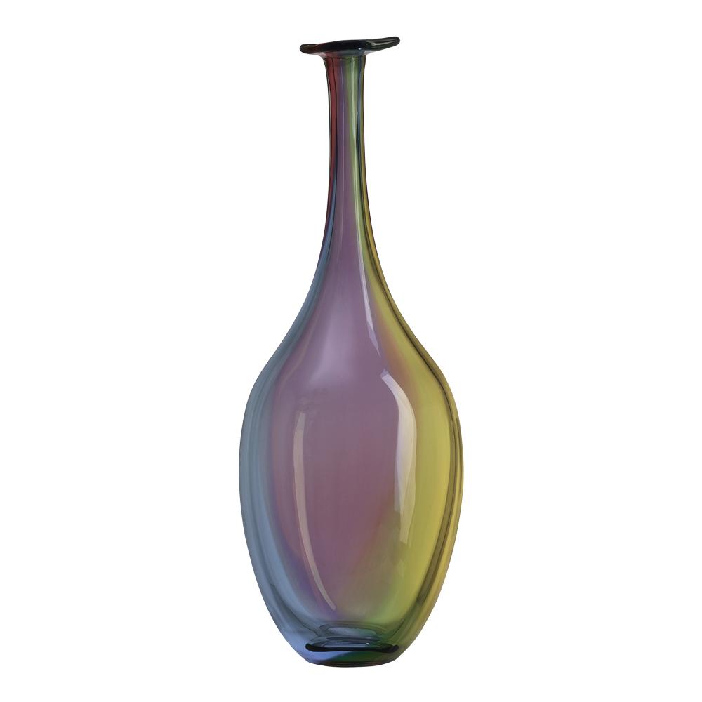 Fidji Flaska 29 cm Blå