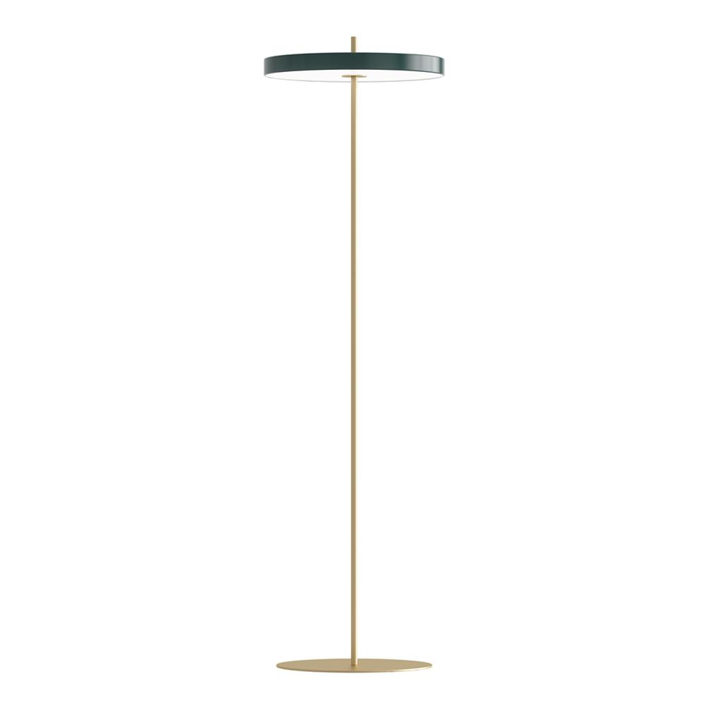 Asteria Floor Golvlampa 40x150 cm Skogsgrön