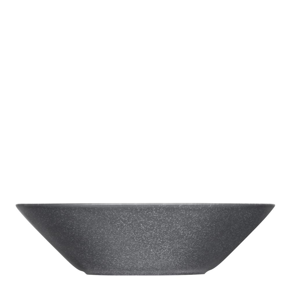 Teema Tallrik djup/skål 21 cm Gråmelerad
