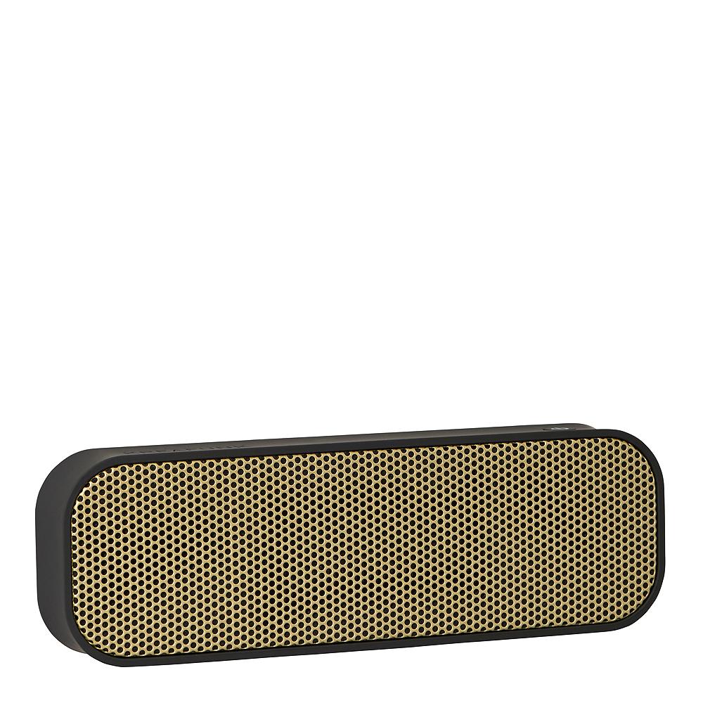 aGroove Högtalare Bluetooth Svart/Guld