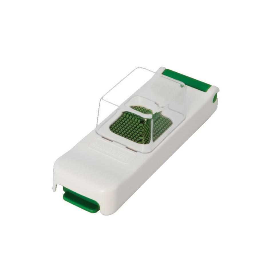 Lökskärare Mini med uppsamlare Grön/Vit