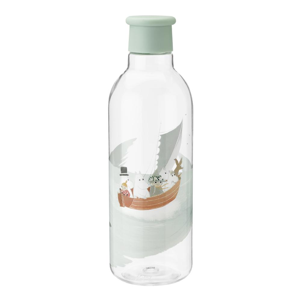 Mumin Drink-It Vattenflaska 75 cl Dusty Green