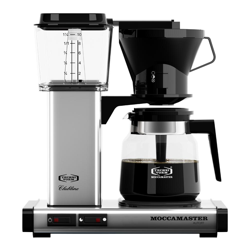 Kaffebryggare KB952AO Polerad silver