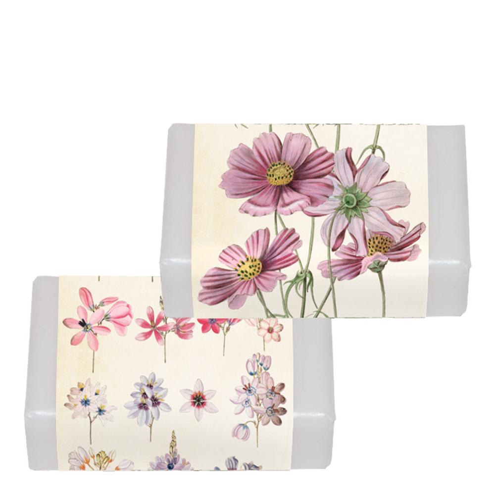 Tvålar Blommor/Rabarber SORTERAD