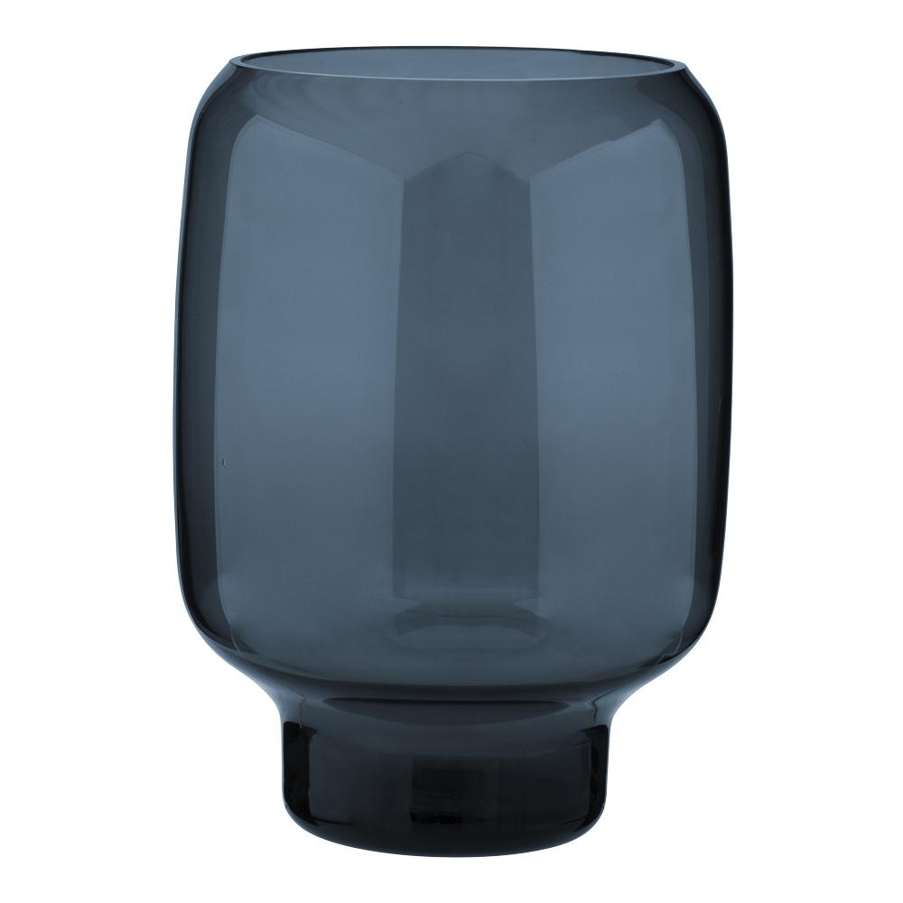 Nordic Hoop Vas 20 cm Blå glas