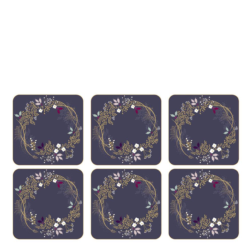 Garland Glasunderlägg 6-pack