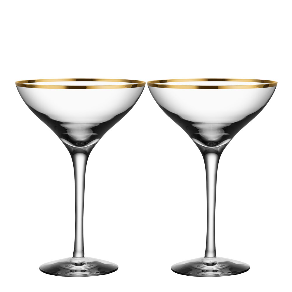 Morberg Exclusive Champagneglas 20 cl 2-pack Guld
