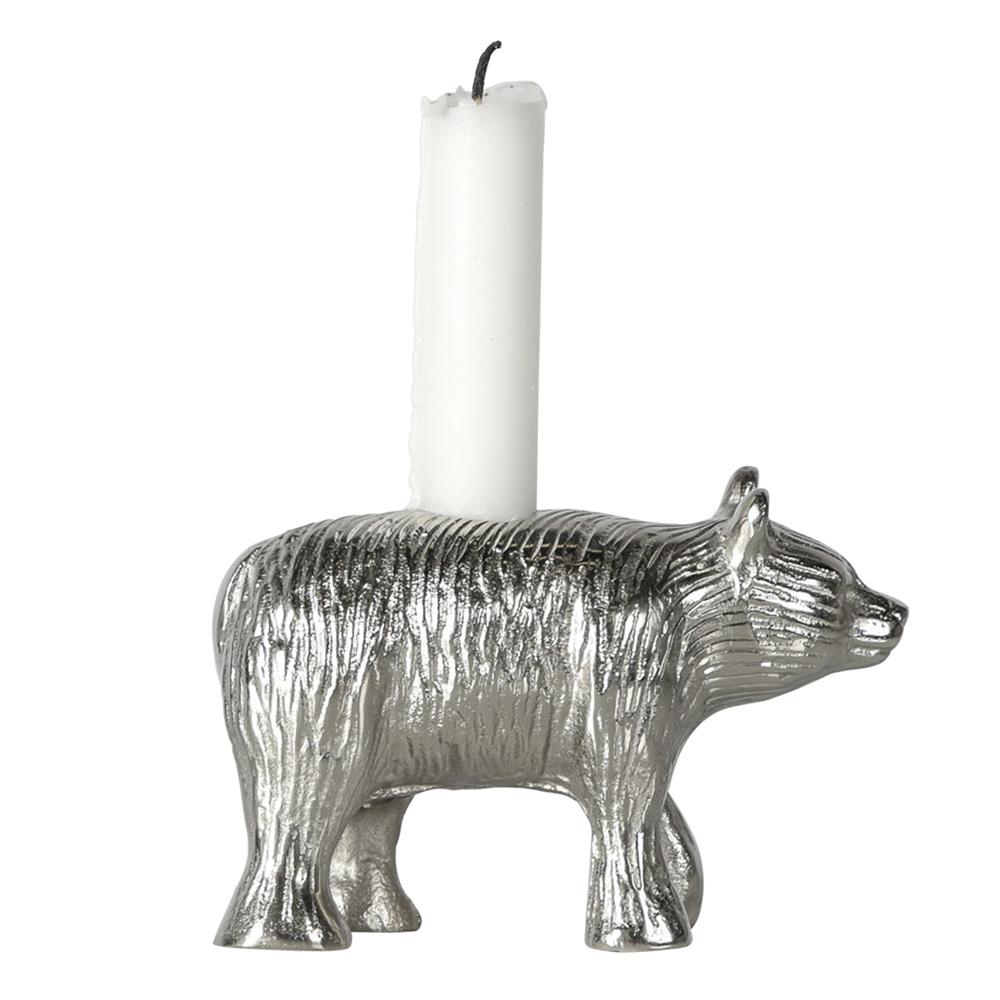 Ljusstake Björn 13x8,5 cm