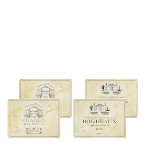 Vin de France Bordstablett 4-pack