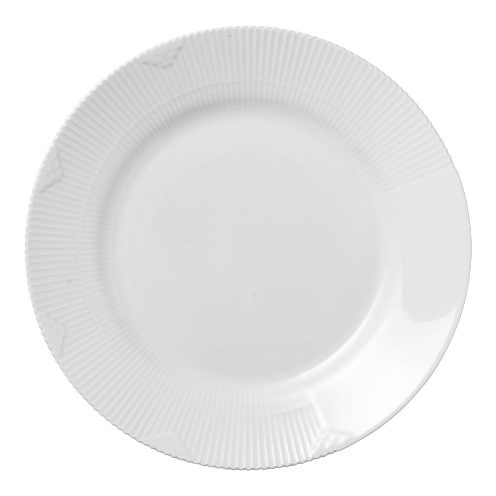 White Elements Tallrik flat 26 cm