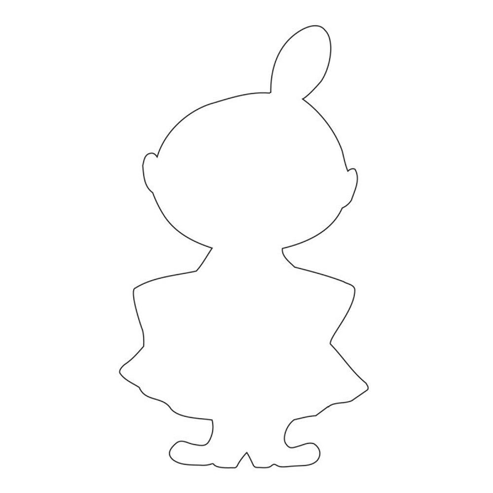 Mumin Pepparkaksform Lilla My 135 cm