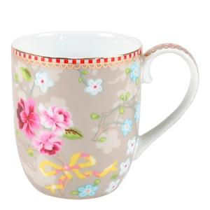 Floral Mugg liten Chinese Rose Khaki