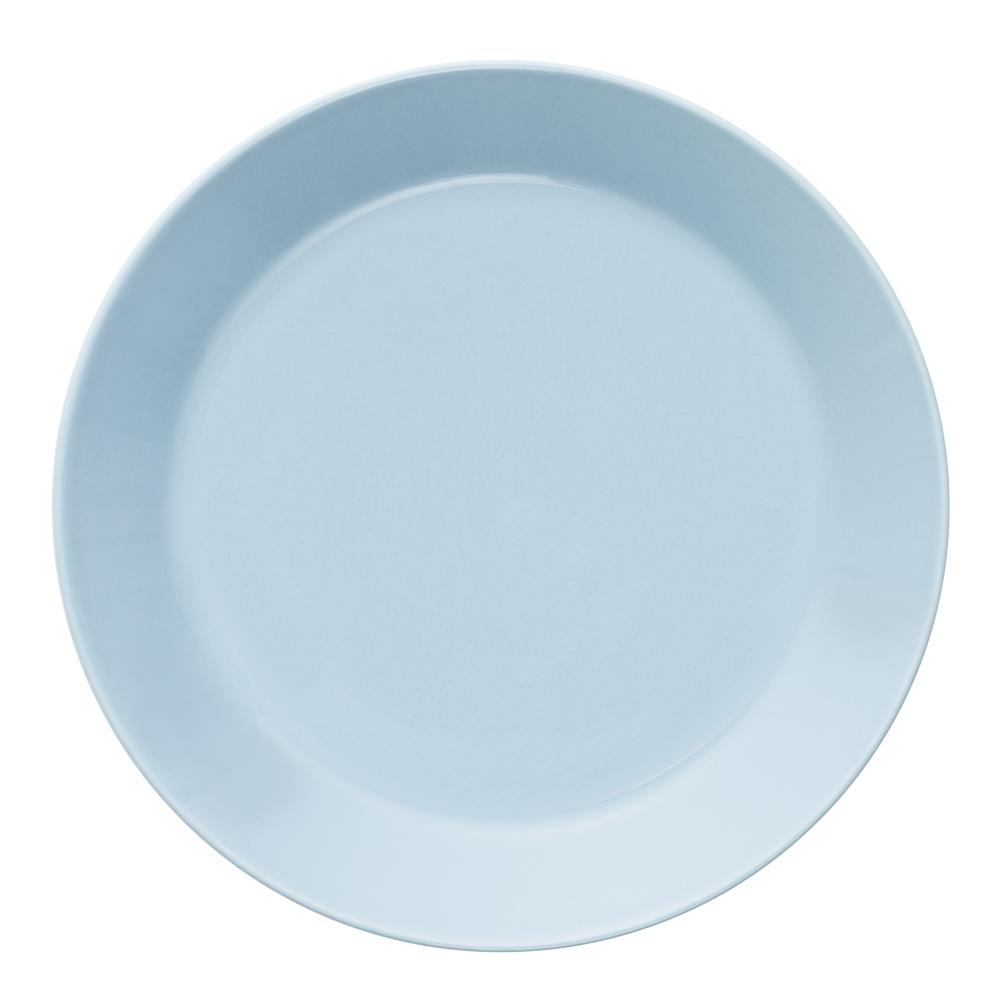 Teema Tallrik flat 17 cm Ljusblå
