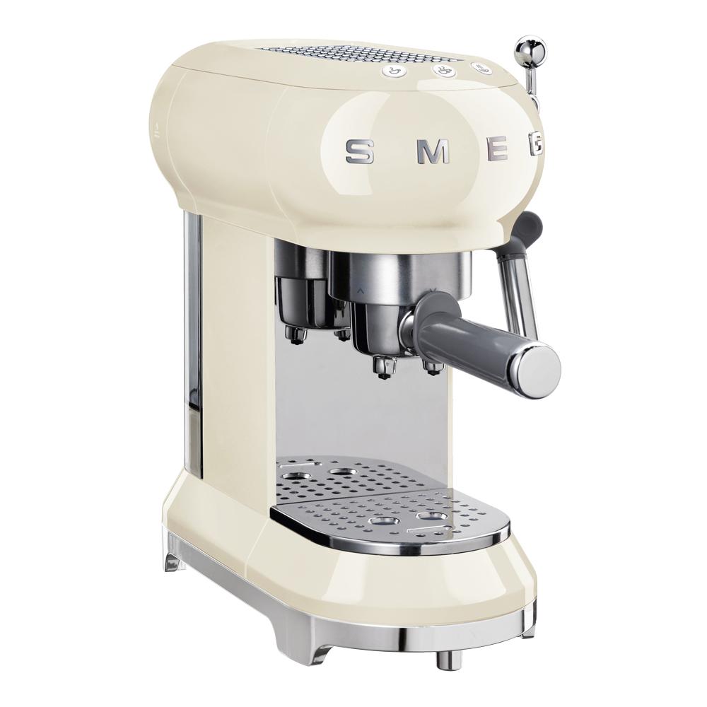 Retro Espressomaskin Creme