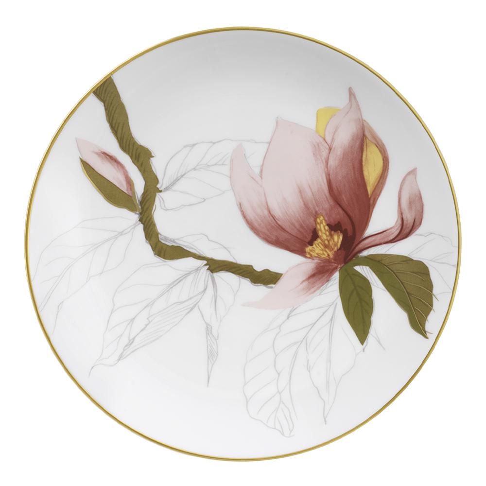 Flora Tallrik 19 cm Magnolia