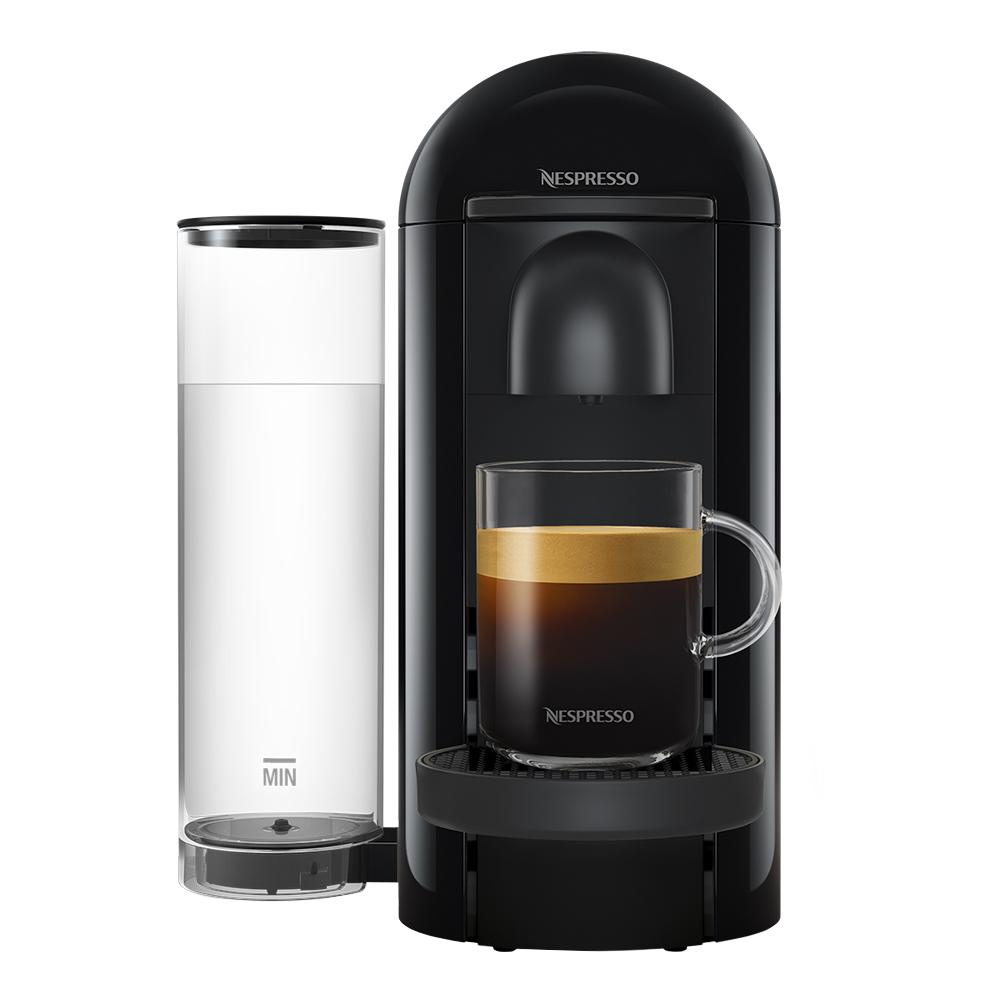 VertuoPlus Round Top Kaffemaskin Black Ink