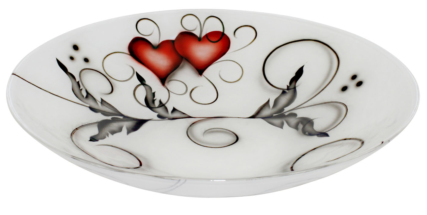 Crystal Ink Fat Heart 37 cm