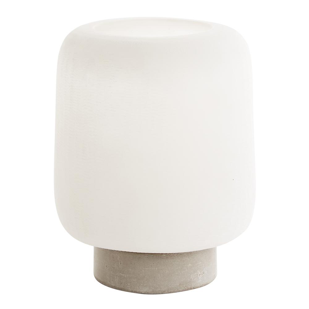Lightstone Lykta 17 cm Vit/stenpulver