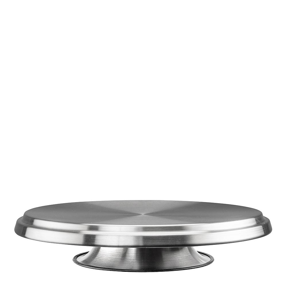 Tårtstativ roterbart Rostfri