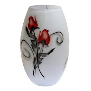 Crystal Ink Vas Rose 26 cm