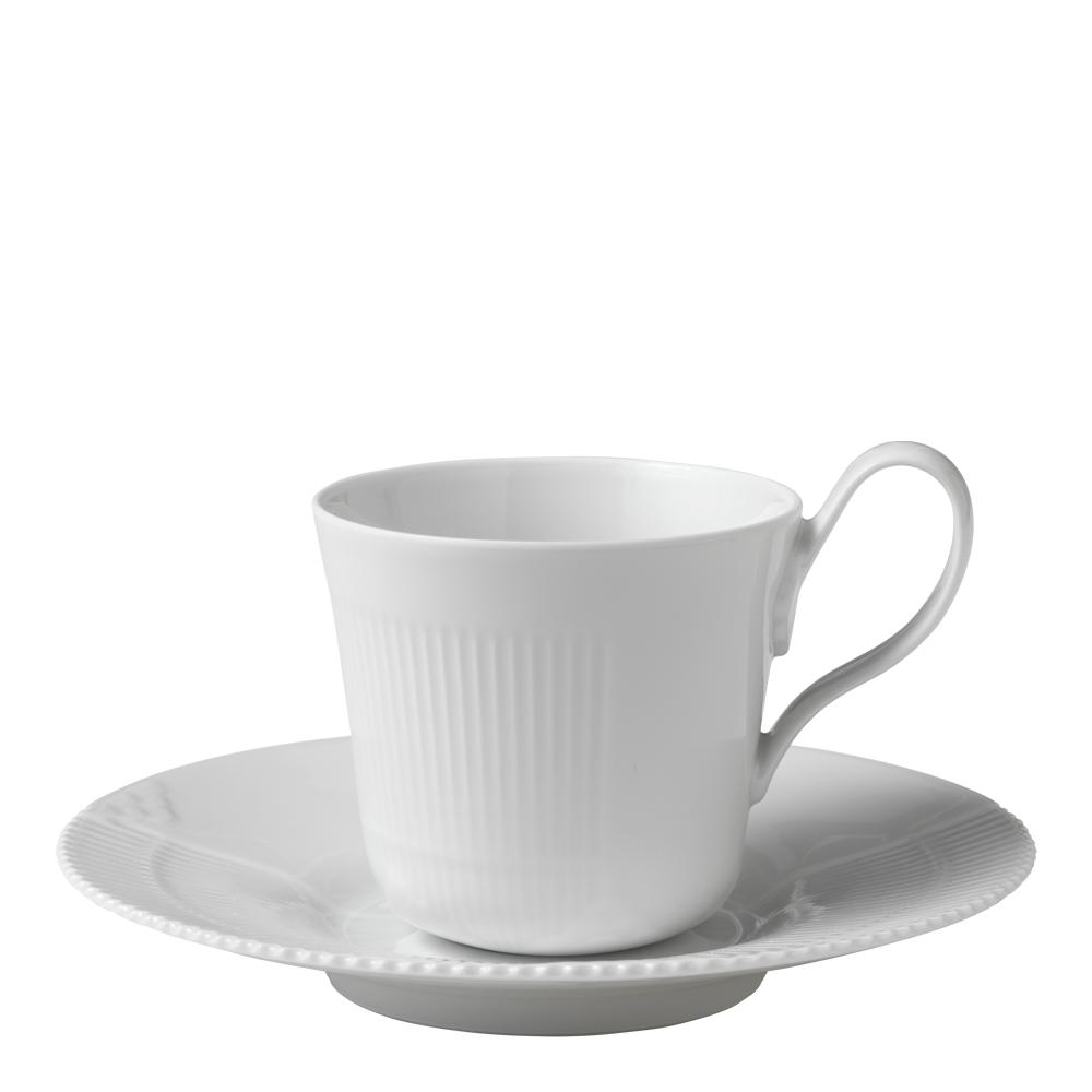 White Elements Kaffegods 25 cl högt handtag