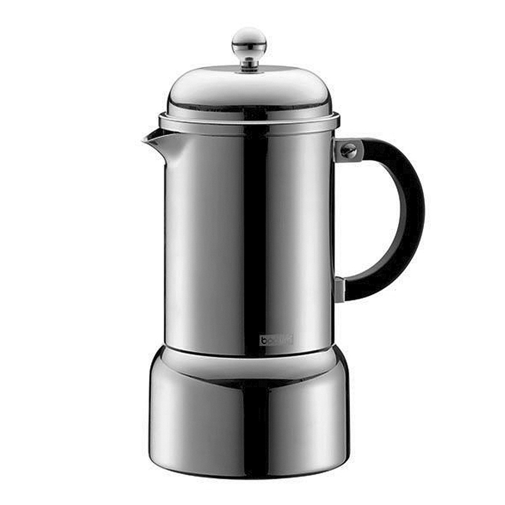Chambord Espressobryggare 6 koppar Rostfri