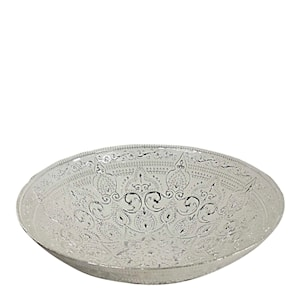 Piastrelle Skål 31 cm Silver