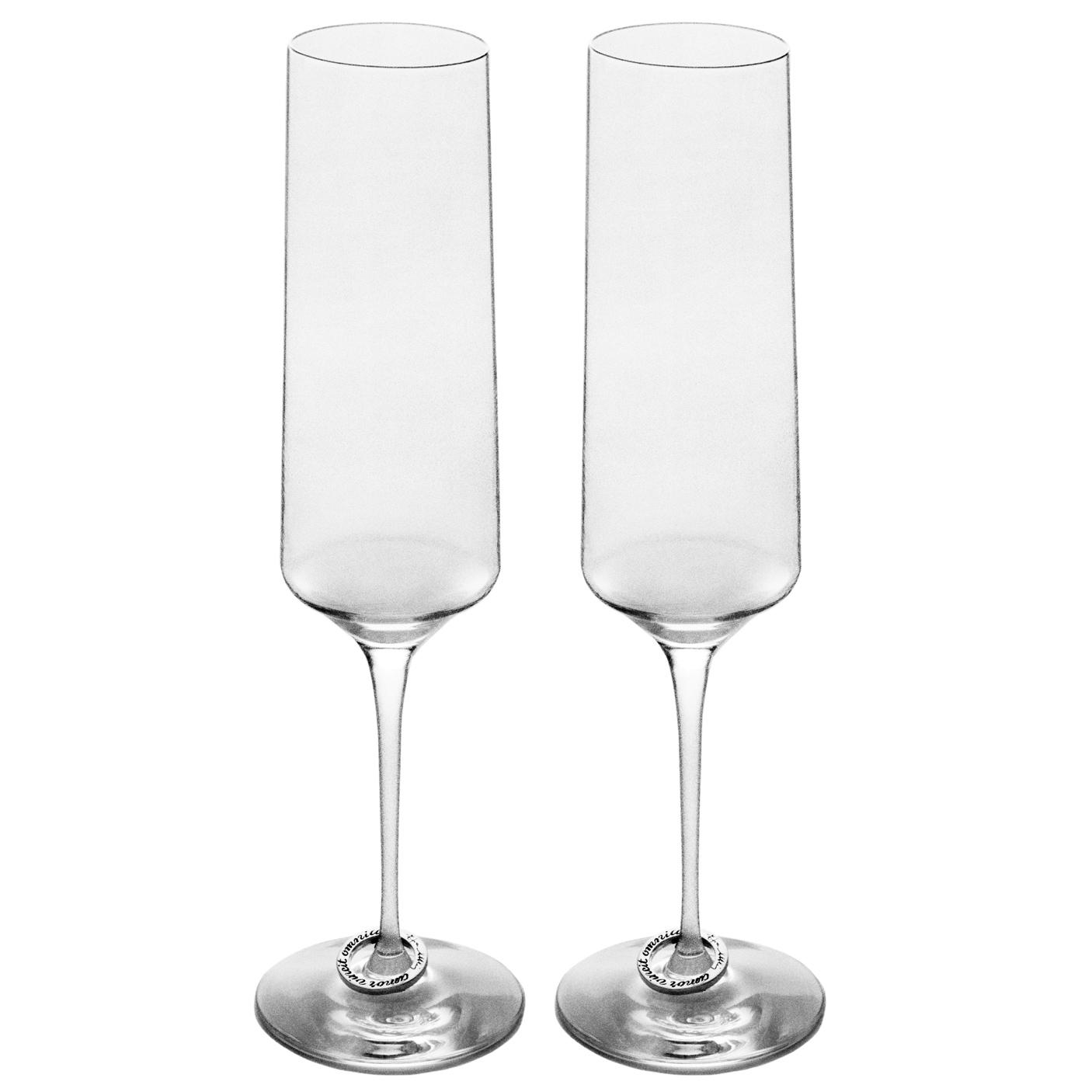 Amor Vincit Omnia Champagneglas 18 cl 2-pack