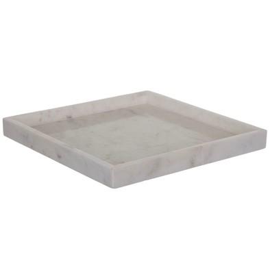 Napoli Fat i marmor 30x30cm Vit
