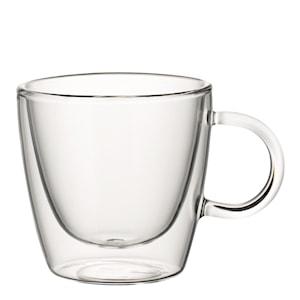 Artesano Hot Beverages Glasmugg medium 22 cl