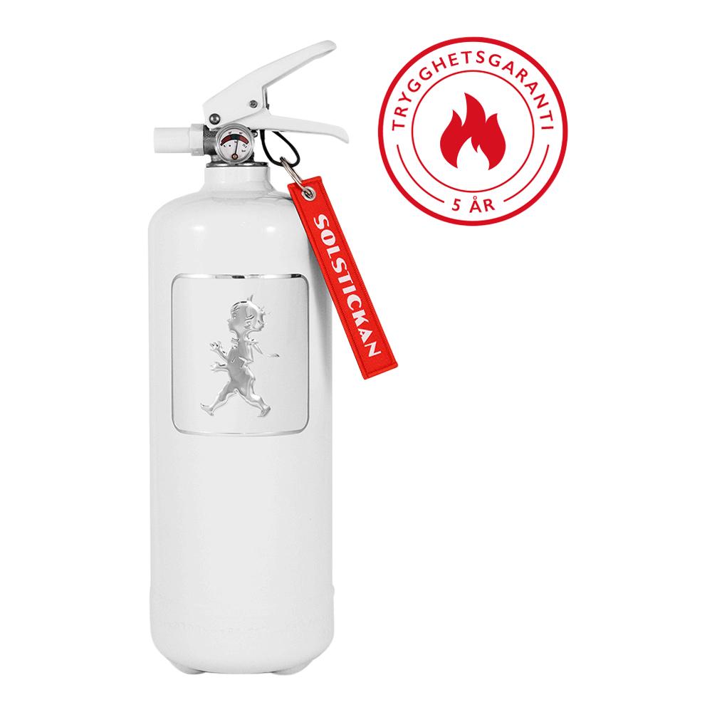 Brandsläckare 2 kg Vit